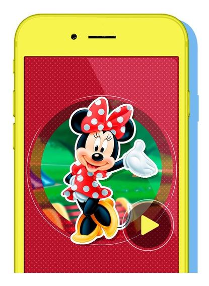Video Invitación Digital Infantil | Minnie Mouse