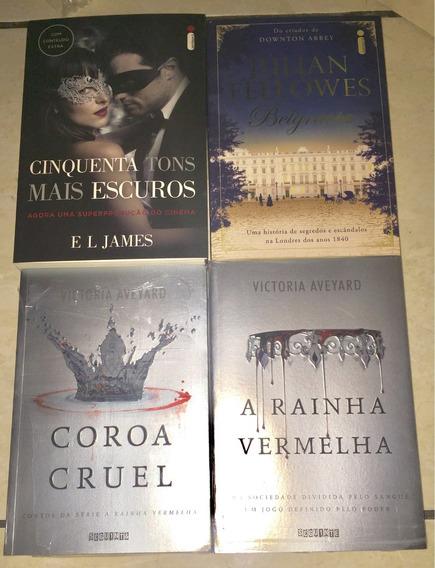 Livros A Rainha Vermelha / Victoria Aveyard / Belgravia