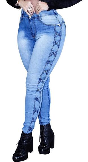 Promoção Calça Jeans Feminina Cintura Alta 2019 Transadinha