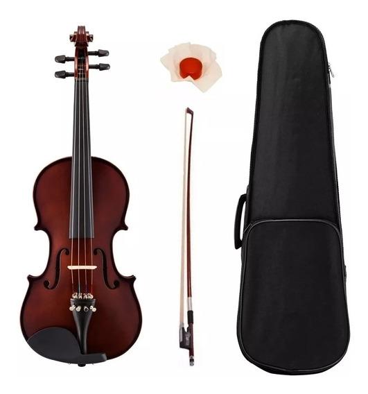 Violin Stradella Mv1411 3/4 Ideal Estudiante Estuche Arco