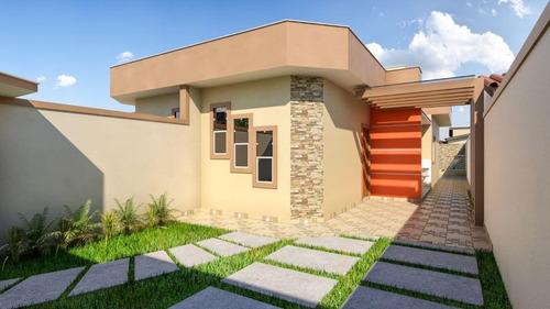 Belíssima Casa Nova Comodidade Conforto Lazer E Segurança Pertinho Do Mar - Ca0663