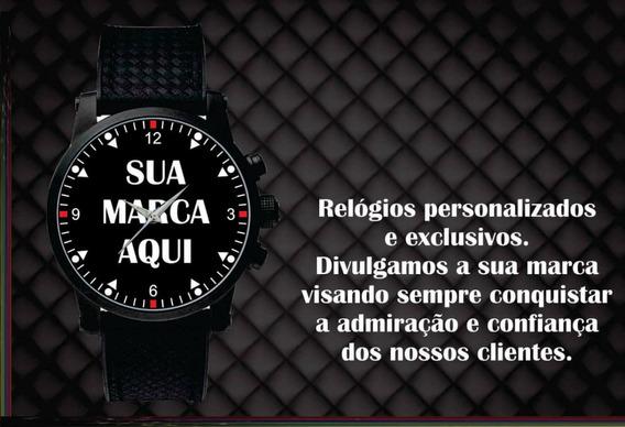 Kit C/8 Relógios De Pulso Personalizados Logo Motoclube