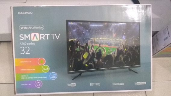 Televisor Led 32 Smart Daewoo160 Lechugas Oferta