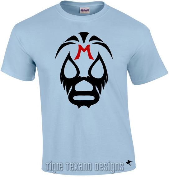 Playera Lucha Libre Mil Máscaras Clásic Tigre Texano Designs