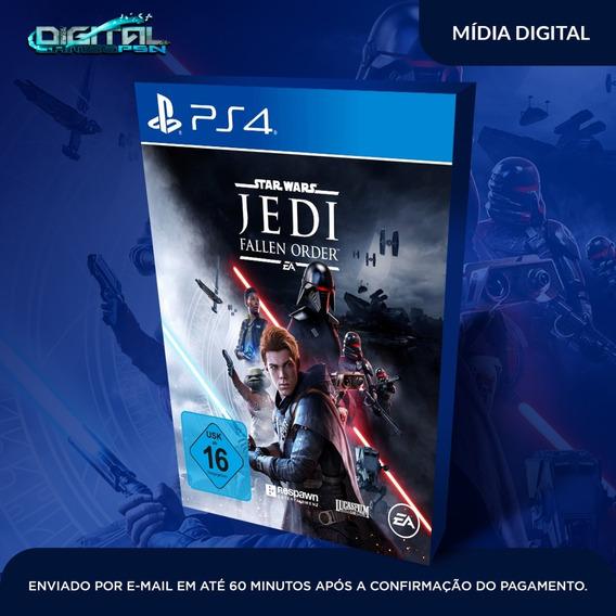 Star Wars Jedi Fallen Order Psn Mídia Digital Receba Agora!