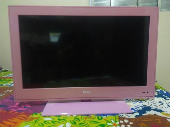 Tv E Monitor Philco Rosa, 24 Polegadas