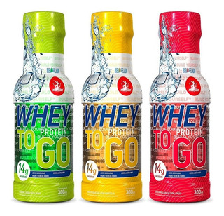 Whey To Go - 3x 300ml - Midway Sabores