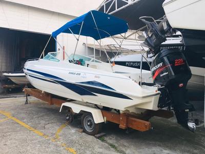 Lancha Real Eagle 225 Impecável Optmax 225 Poddium Nautica!!