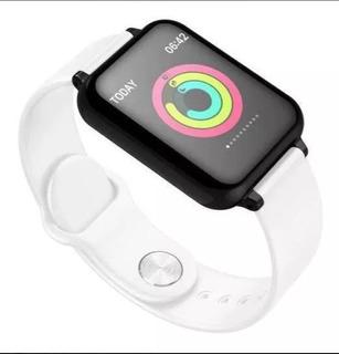 Relogio Inteligent Smartwatch B57 Pressão/batimento/cardíaco