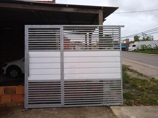 Portão De Correr Novo,materiais De Qualidade Medida.