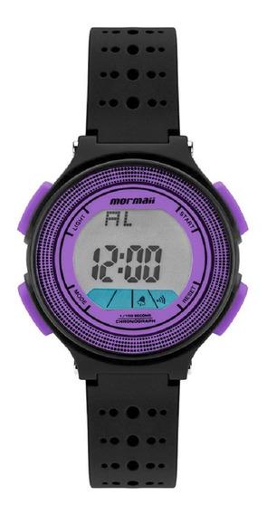 Relógio Mormaii Feminino Digital Mo0974f/8g Preto Roxo