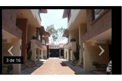 Se Renta Casa En Av Toluca. 4 Recamas, 5 Baños. Seguridad, Jardin