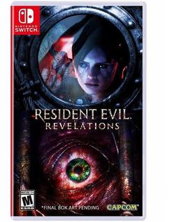 Resident Evil Revelations Collection Nintendo Switch Nuevo