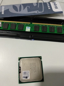 Core 2 Duo E7500 + 2gb Ddr2 800 Kingston