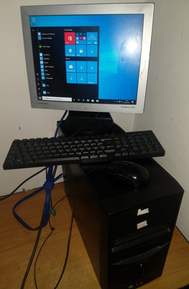 Computador Desktop Pc Dual Core 2gb Memoria Hd 320 Windows10