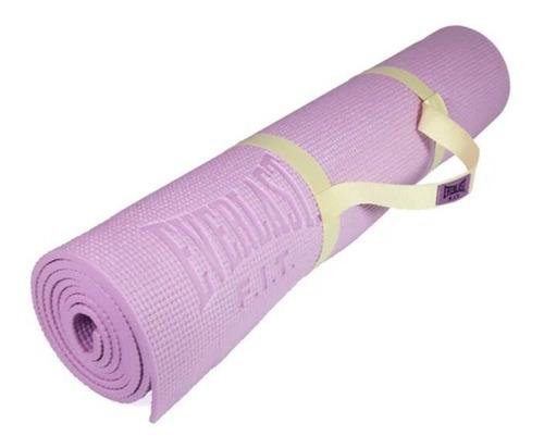 Imagen 1 de 5 de Colchoneta Yoga Mat Everlast De 6mm Con Tirantes
