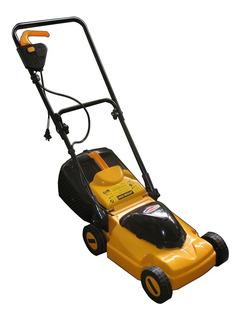 Cortadora de pasto eléctrica Castel Garden 69382215 con bolsa recolectora 1000W amarilla y negra 220V