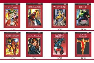 Salvat Marvel Graphic Novels Hq Capa Vermelha Valor Unitario