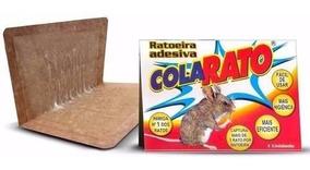 4 Un Ratoeira Adesiva Visgo Pega Cola Rato Fr Grátis Aeio@