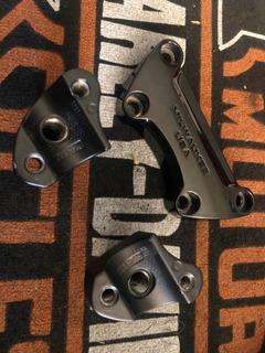 Torres/clamp Harley Davidson Milwaukee Usa Negro 1 Original