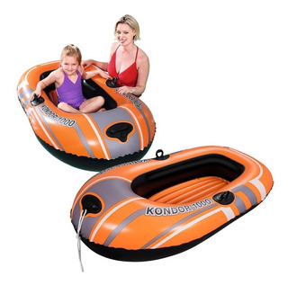 Bote Inflable Bestway 155x97 Cm 61099 - Envios - Luico