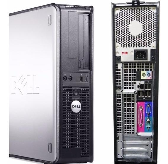 Cpu Dell 380 Core 2 Duo 2gb Hd250 Wifi + Frete + Brinde.