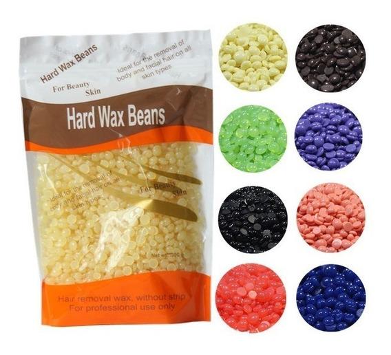 Cera Hard Wax Beans Para Depilar Cejas Pestañas Maquillaje