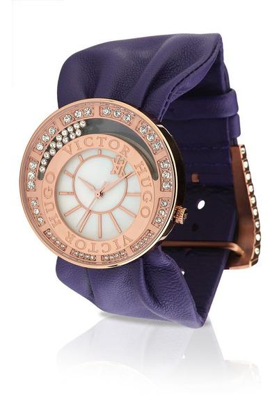 Relógio Feminino Victor Hugo 10110lsb-40