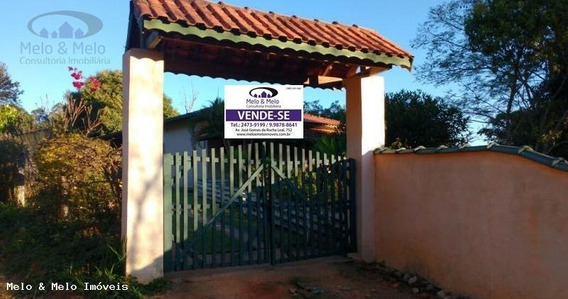 Chácara Para Venda Em Bragança Paulista, Água Comprida, 1 Dormitório, 2 Banheiros, 8 Vagas - 656