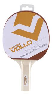 Raquete Tenis Mesa Vollo Vt601 Force 1000