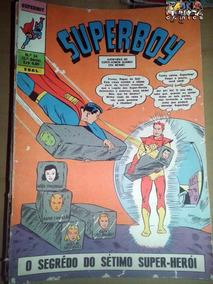 Superboy Nº 54 1ª Série Editora Ebal Dc Comics P / B Legião