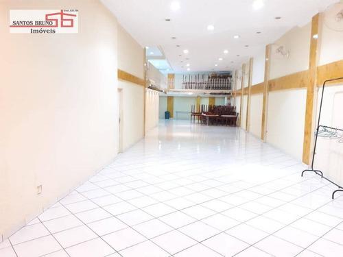 Imagem 1 de 9 de Salão Para Alugar, 400 M² Por R$ 8.000,00/mês - Freguesia Do Ó - São Paulo/sp - Sl0042