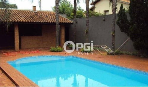 Imagem 1 de 24 de Casa Com 3 Dormitórios Para Alugar, 320 M² Por R$ 14.000,00/mês - Jardim Canadá - Ribeirão Preto/sp - Ca3102
