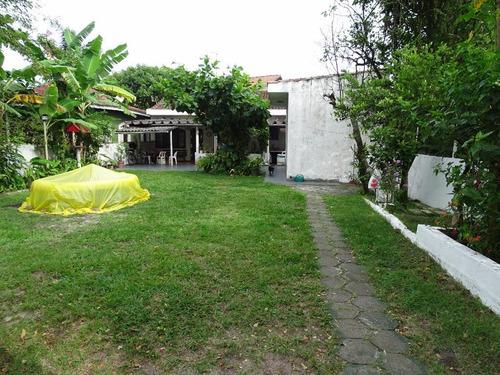 Casa, Lote Inteiro Lado Praia - Centro Comercial, Próx Plataforma De Perca - Ca0105