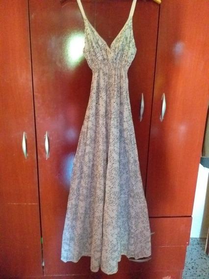 Dean & Delucca Vestido Largo Tm Impecable!