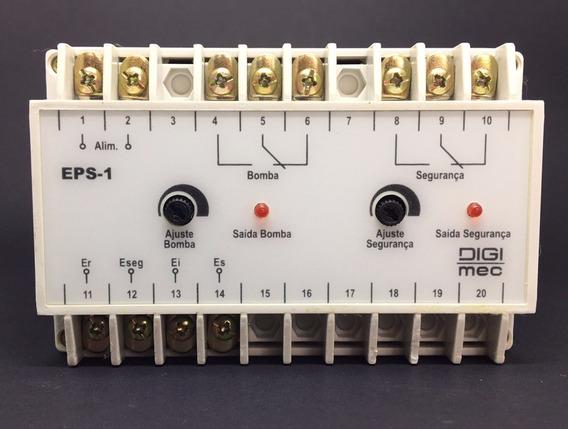 Rele De Nível Eletrônico Com Segurança Eps-1 220v Digimec
