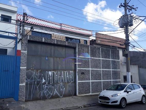Galpão Para Alugar, 450 M² Por R$ 5.500/mês - Vila Nova York - São Paulo/sp - Ga0090