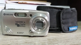 Câmera Digital Kyocera Yashica Ms 6000 6.0