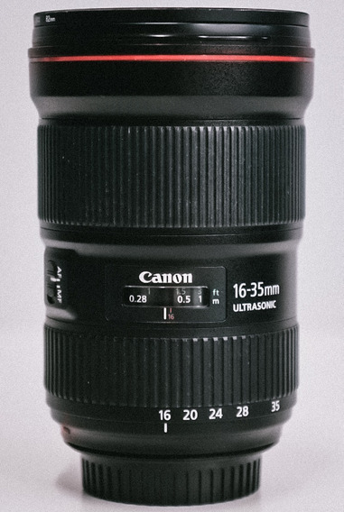 Lente Canon Ef 16-35mm F/2.8l Iii Usm Usado Unico Dono
