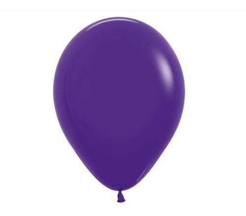 Globos R-12 Fashion Violeta - Sempertex X 50