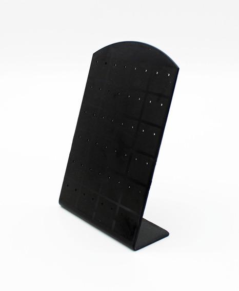 Set 6 Mostrarios Exhibidor 24 Pares Aros Acrilico Negro