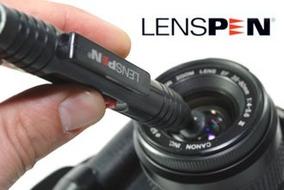 Limpa Lente Lenspen Original Canon Nikon Sony