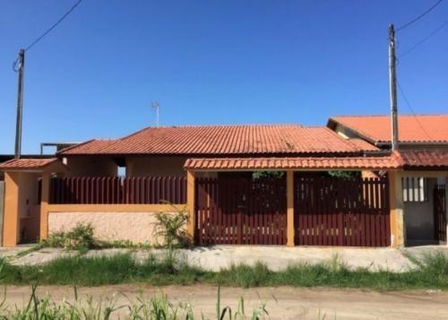Linda Casa No Jardim Guacyra, Em Itanhaém, Ref. C1120 L C