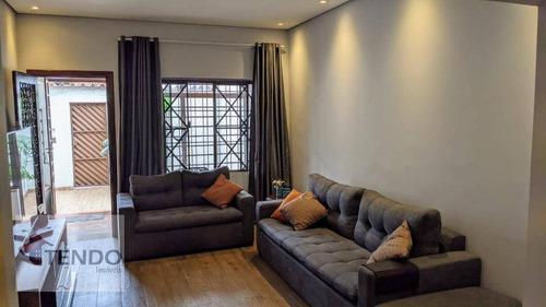 Imagem 1 de 30 de Imob01 - Casa 204 M² - Venda - 4 Dormitórios - 1 Suíte - Vila Alcântara - São Bernardo Do Campo/sp - Ca0447