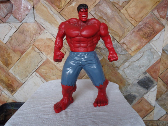 Boneco Do Hulk Vermelho