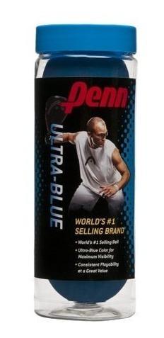 Imagen 1 de 2 de Penn Pelotas Racquetballs Ultra-blue