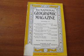 Magazine Ingles National Geographic Vol 102 Nº 1 / 1952 Nove