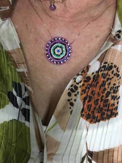 Collar Turco De Plata Y Swarovski