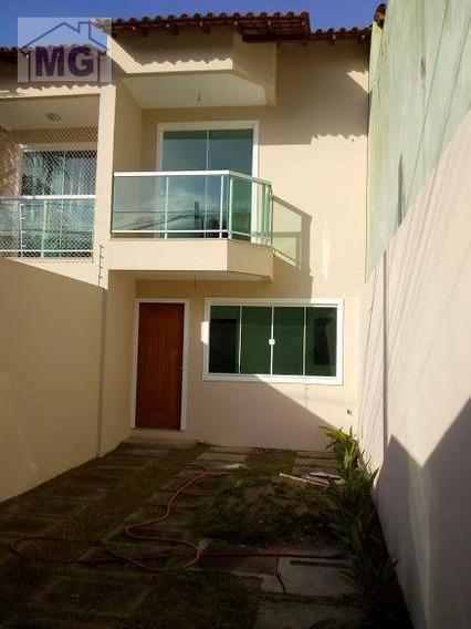 Casa Com 2 Dormitórios À Venda Por R$ 325.000,00 - Jardim Vitória - Macaé/rj - Ca0152