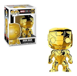 Funko Pop Iron Man Oro / Cromo #375